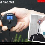 旅行用荷物重量測定器。Mini Digital Travel Scale Kikkerland