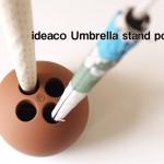 穴に傘を。ideaco Umbrella stand  pond