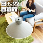 スピーカー付き照明。ROOS SPEAKER LIGHT by Bluetooth