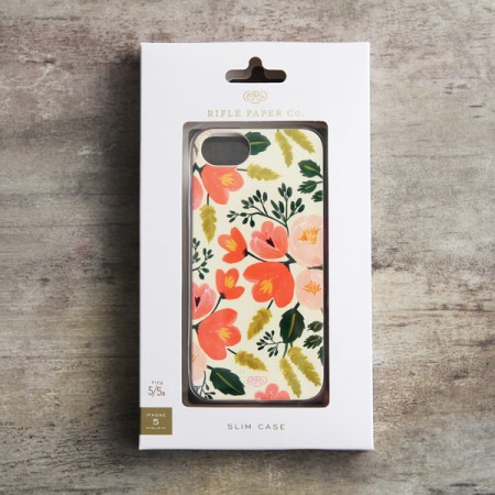 花柄万歳。Rifle Paper Co iPhone5/5Sケース