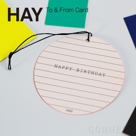 HAY(ヘイ) / To & From Card メッセージカード