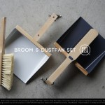 ほうきとちりとり。BROOM & DUSTPAN SET / PUEBCO