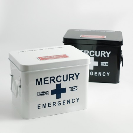 おしゃれ救急箱。MERCURY EMERGENCY BOX