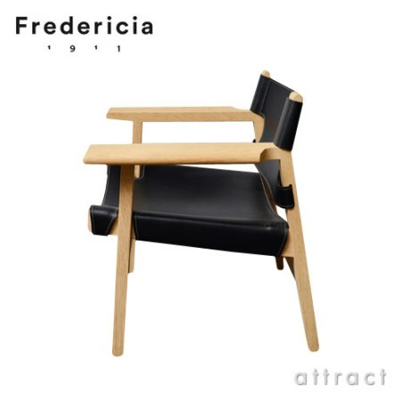 豪華な革と木の椅子。The Spanish Chair  Fredericia