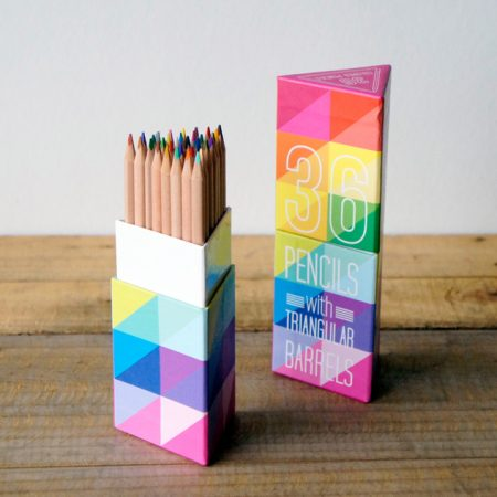 36色鉛筆。OOLY The Triangle Colored Pencils 36