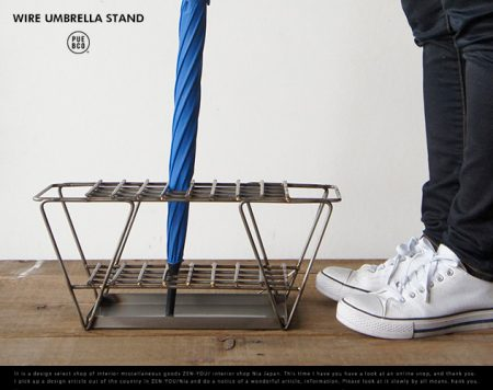 WIRE UMBRELLA STAND / PUEBCO プエブコ