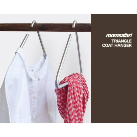 roomsafari(ルームサファリ) TRIANGLE COAT HANGER