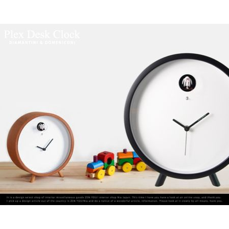 plex desk clock / Diamantini & Domeniconi
