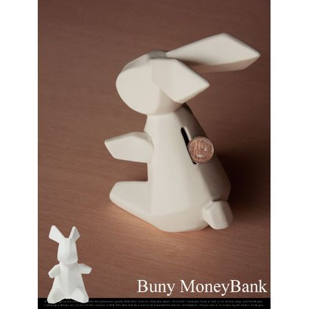 Bunny MoneyBank  / made by humans 貯金箱