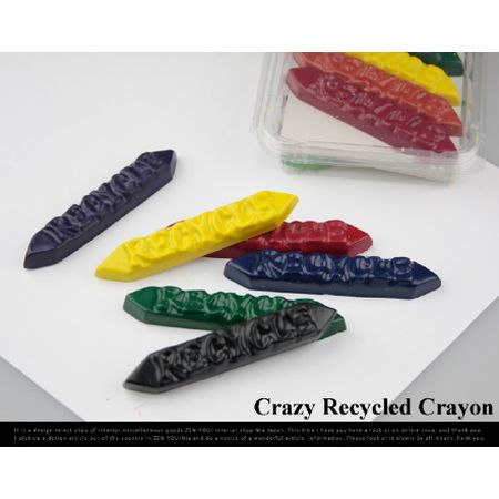 Crazy Recycled Crayon