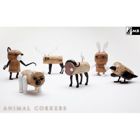 MONKEY BUSINESS animal corkers  アニマルコルカー