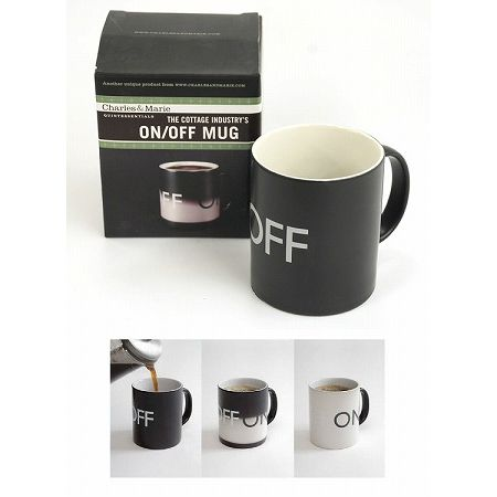 ON/OFF MUG THE COTTAGE INDUSTRY'S