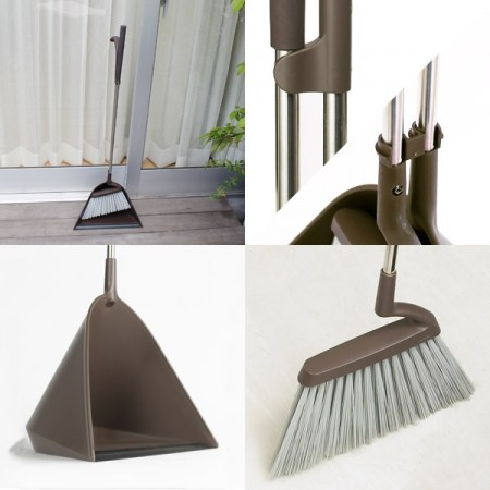 tidy(ティディ) Sweep Broom&Dustpan