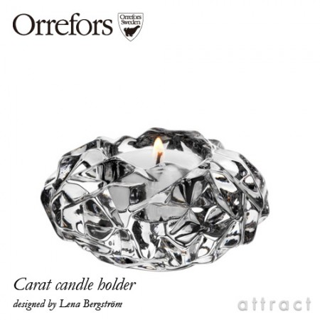 Orrefors(オレフォス) CARAT Candle Holder