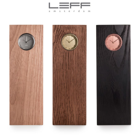 LEFF amsterdam - Tube Wood Clock
