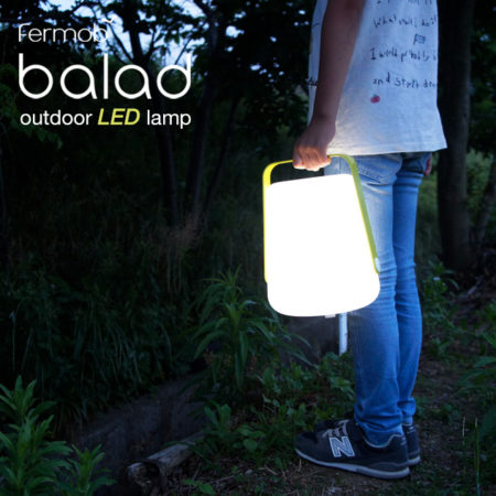 携帯LEDライト。Balad Outdoor LED Lamp /  Fermob