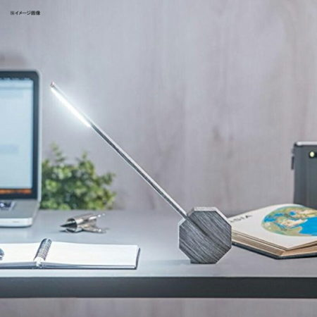 充電LEDスリムランプ。Gingko Octagon One Rechargeable Modern LED Desk Lamp