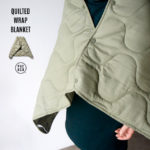 QUILTED WRAP BLANKET /キルト ラップ ブランケット PUEBCO