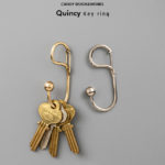 CDW Quincy Key Ring / クインシー キーリング CANDY DESIGN & WORKS