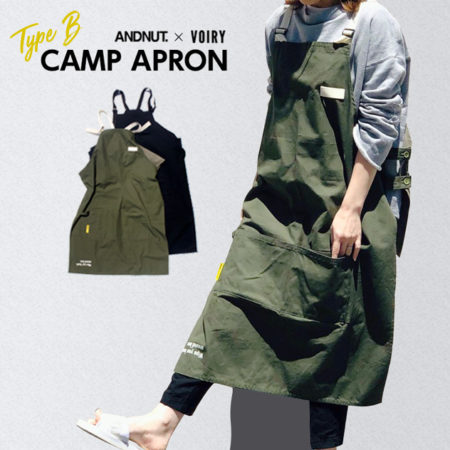 CAMP APRON キャンプ エプロン VOIRY  &NUT
