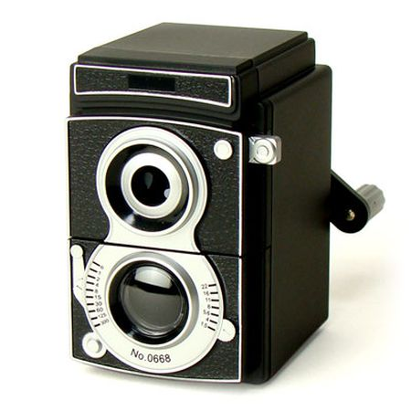 キッカーランド CAMERA PENCIL SHARPENER