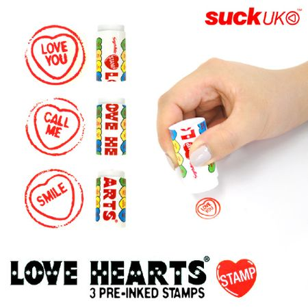 Love Hearts Stamp / suckUK