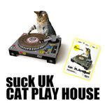 猫用DJ型爪研ぎ。suckUK CAT PLAY HOUSE
