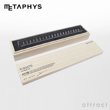 METAPHYS/メタフィス kasumi  Paperweight Ruler
