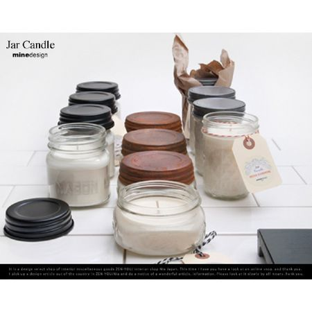jar candle / minedesign.Made in U.S.A.