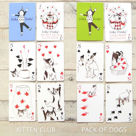 Inky-Dinky(インキーディンキー) Playing Cards