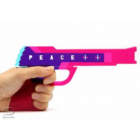 "RubberBandGun ""Peace Gun"""