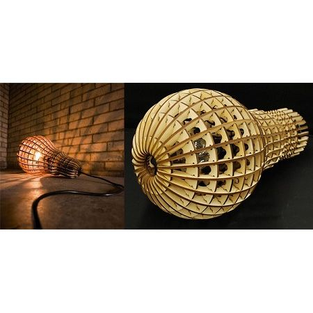 WOODEN BULB suck UK