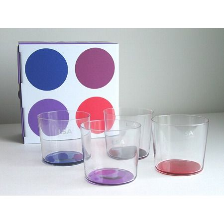 COLO TUMBLER SET4 (BERRY)